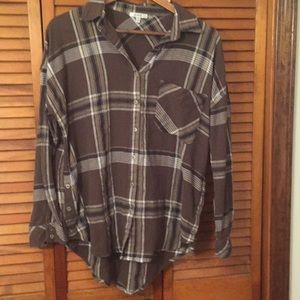 Plaid Shirt to wear with leggings